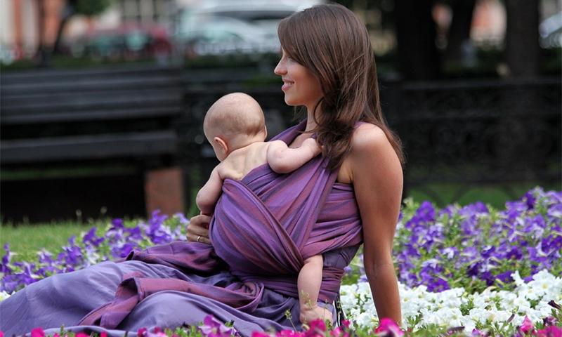 Слинг для новорожденных от 0 до 6 месяцев   уроки для мам