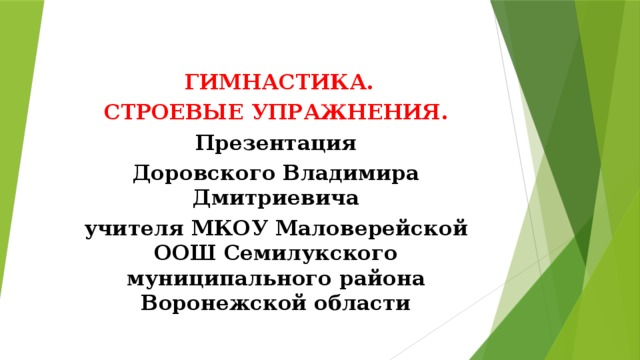Смолевский в.м. гимнастика и методика преподавания - файл n1.doc