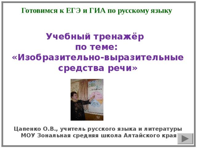 Сравнительный оборот - средство украшения речи :: syl.ru