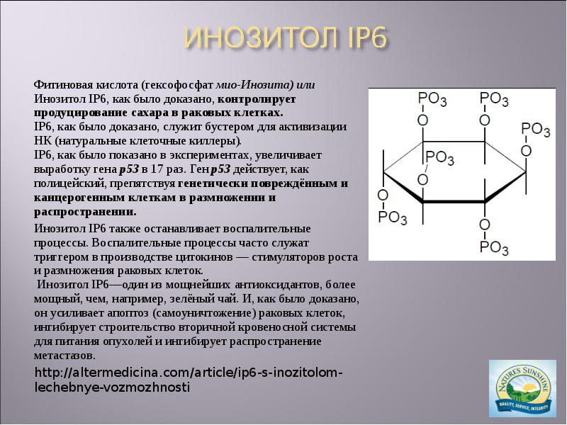 Инозитол: польза и вред, дозировка | пища это лекарство