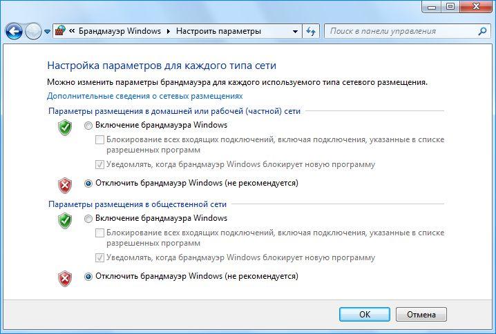 Брандмауэр windows: функции, настройка, включение, отключение, ошибки