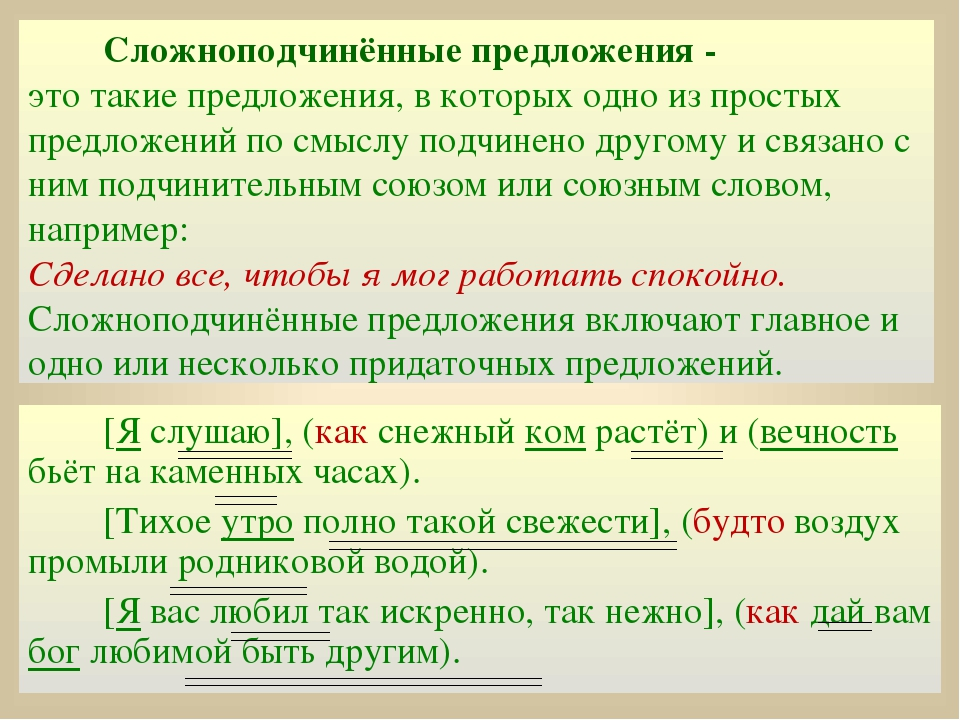 Сложноподчинённое предложение — википедия с видео // wiki 2