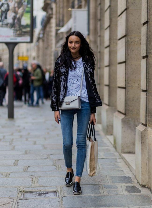 Джинсы скинни (skinny) женские и мужские - фото, фасоны, с чем носить