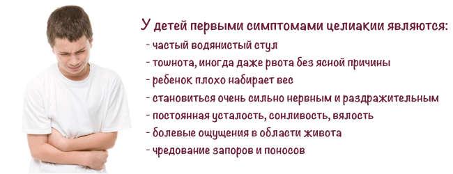 Целиакия