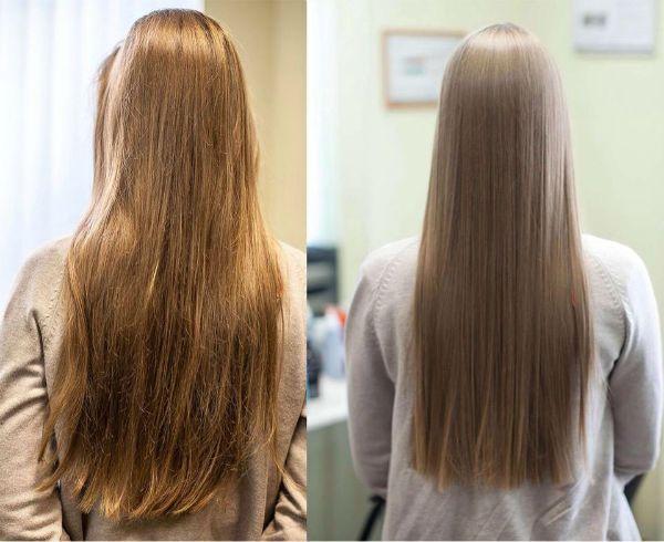 Кератиновое выпрямление волос: этапы, советы, отзывы