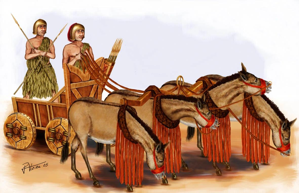 Что такое колесница? конструкция, применение, символическое значение