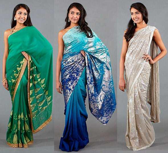 Индийское сари: история наряда, ткани и цвета