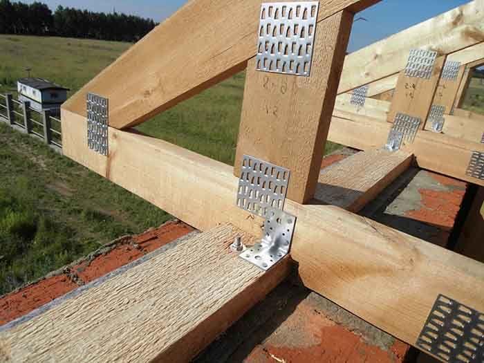 Висячие стропила – что это, конструкция и узлы висячих стропил, монтаж висячих стропил