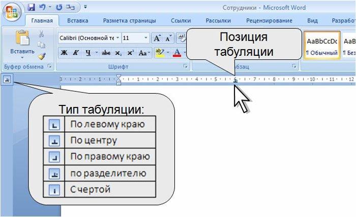 Табуляция в word как сделать - t-tservice.ru