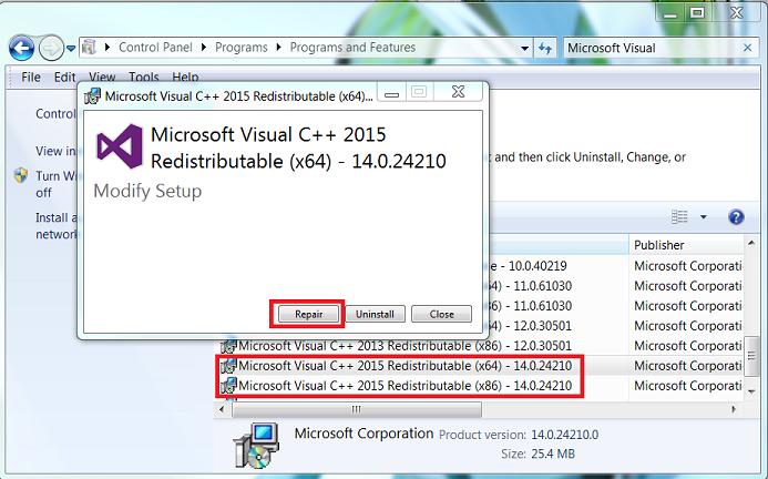 Как исправить ошибку msvcp140 dll windows 10 microsoft visual studio 2017?
