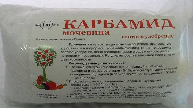 Карбамид (мочевина) | справочник пестициды.ru