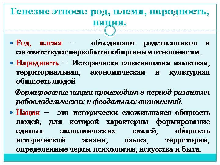 Этнические группы людей :: syl.ru