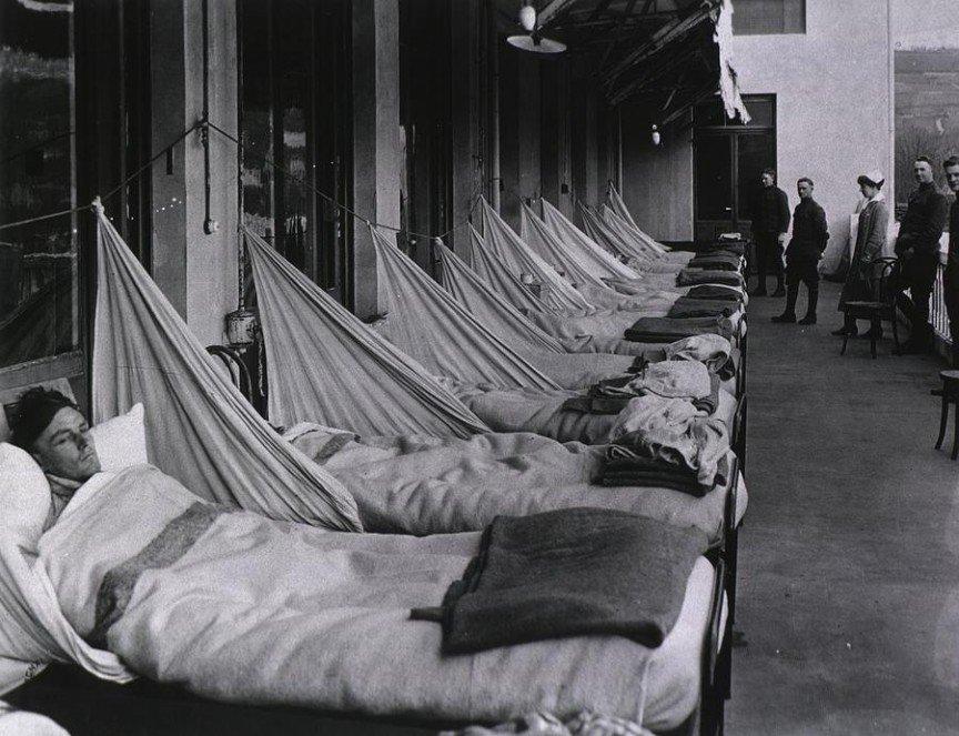 Испанский грипп — википедия