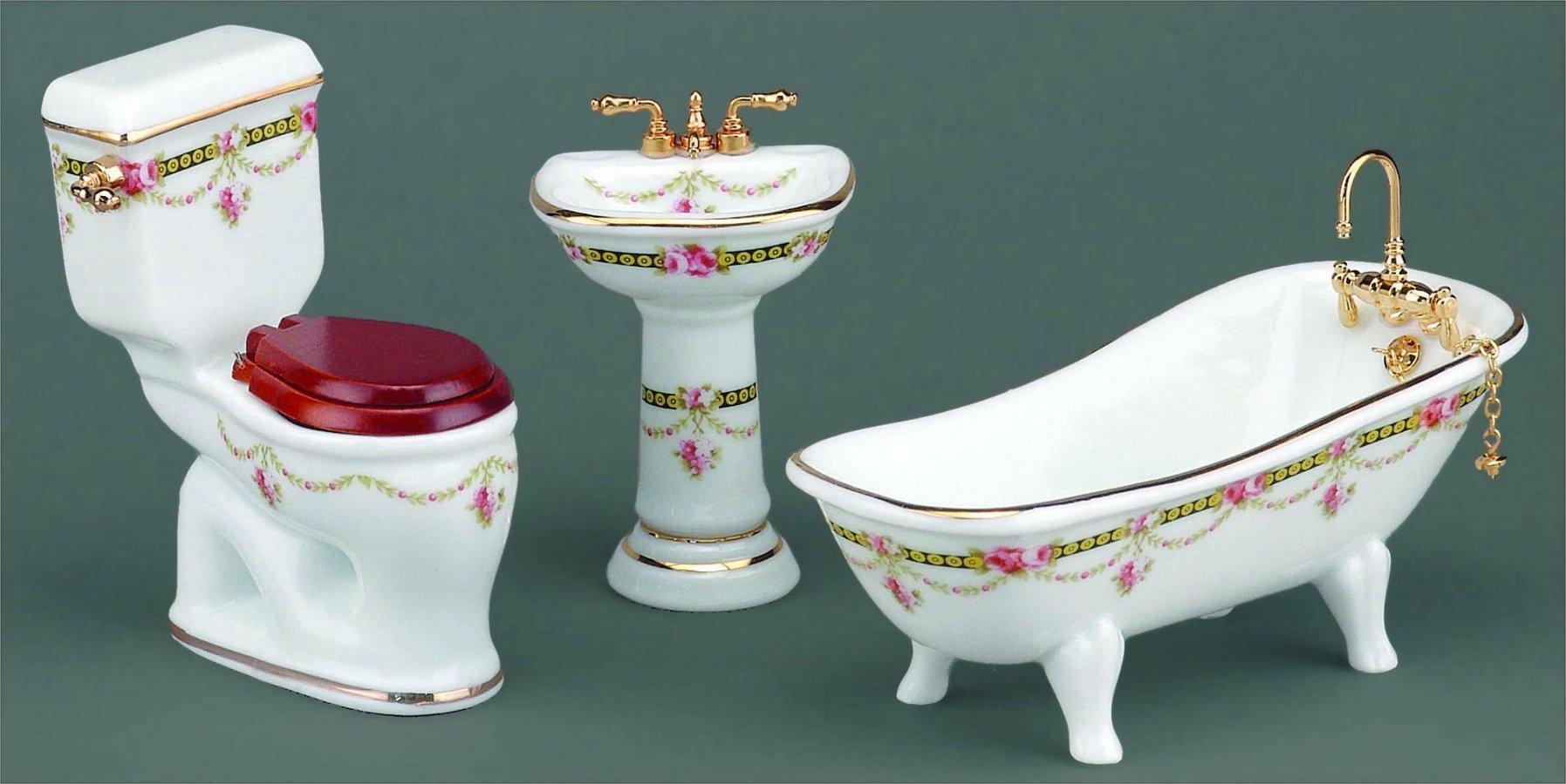 Санфаянс для ванной комнаты