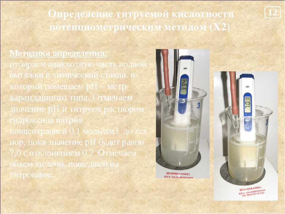 Методы титриметрического анализа. типы титрования. аналитическая химия