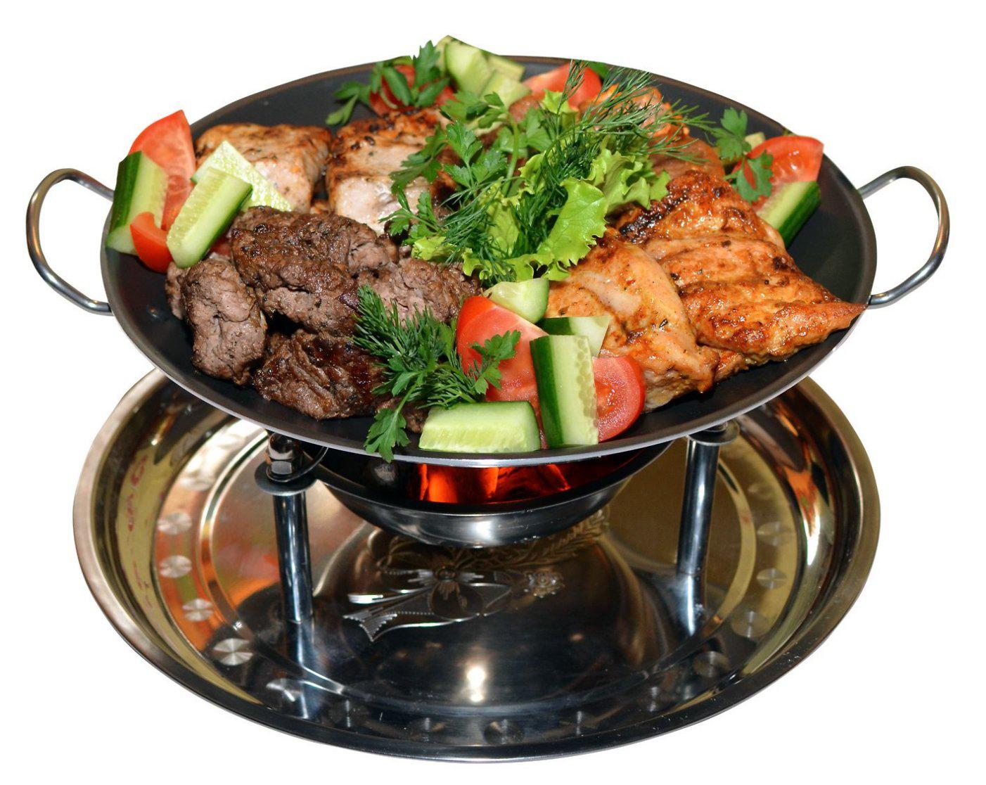 Садж: ягненок с овощами во фритюре — рецепты халяль