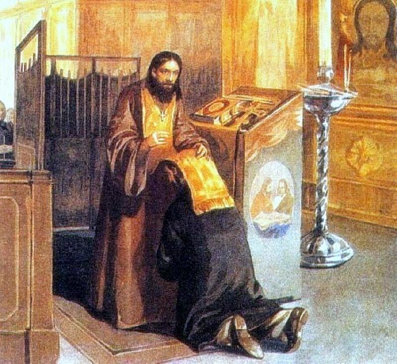 Покаяние что это? значение слова покаяние