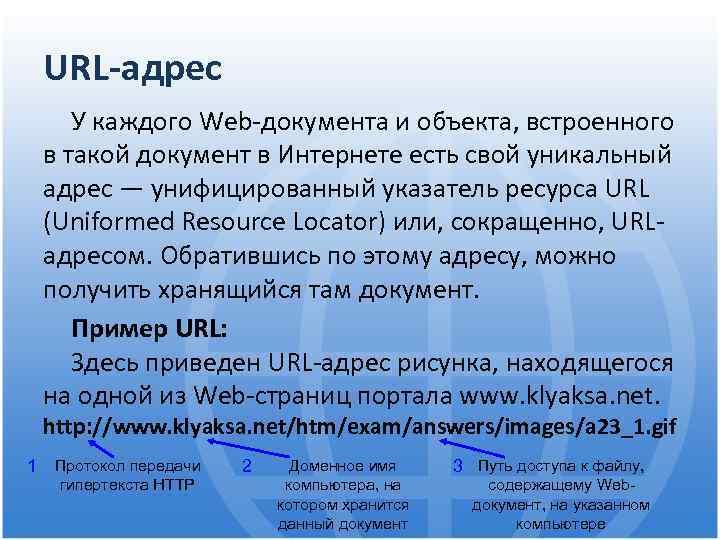 Что такое url – как они помогают ориентироваться в интернете