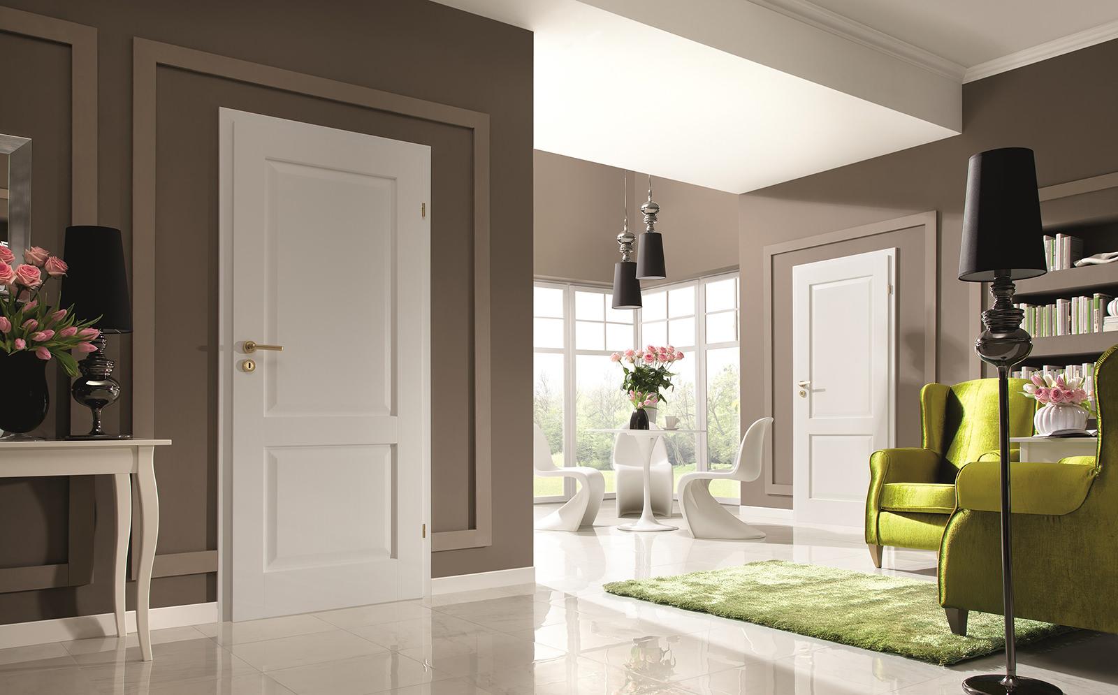 Оформление дверного проема без двери шторами