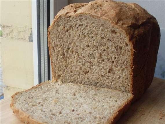 Хлеб цельнозерновой это, какой. цельнозерновой хлеб.  настоящий цельнозерновой хлеб очень для здоровья полезен.