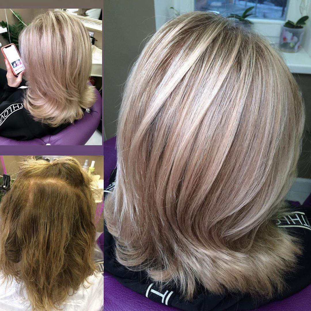 Тонировка волос: фото до и после, выбор средств, отзывы