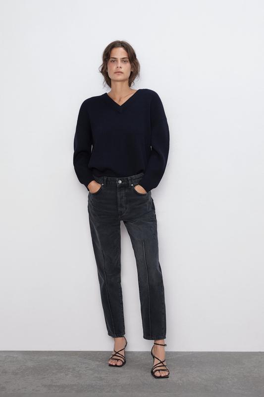 Модные джинсы мом: 100 фото, с чем носить, модели, тренды, новинки