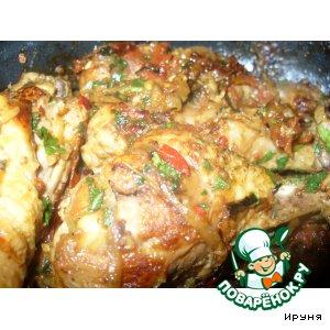 Чахохбили – кулинарный рецепт