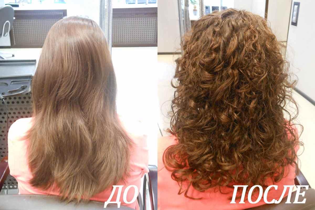 Биозавивка волос (биохимическая завивка) - описание,  противопоказания, фото, видео,  цены и отзывы.