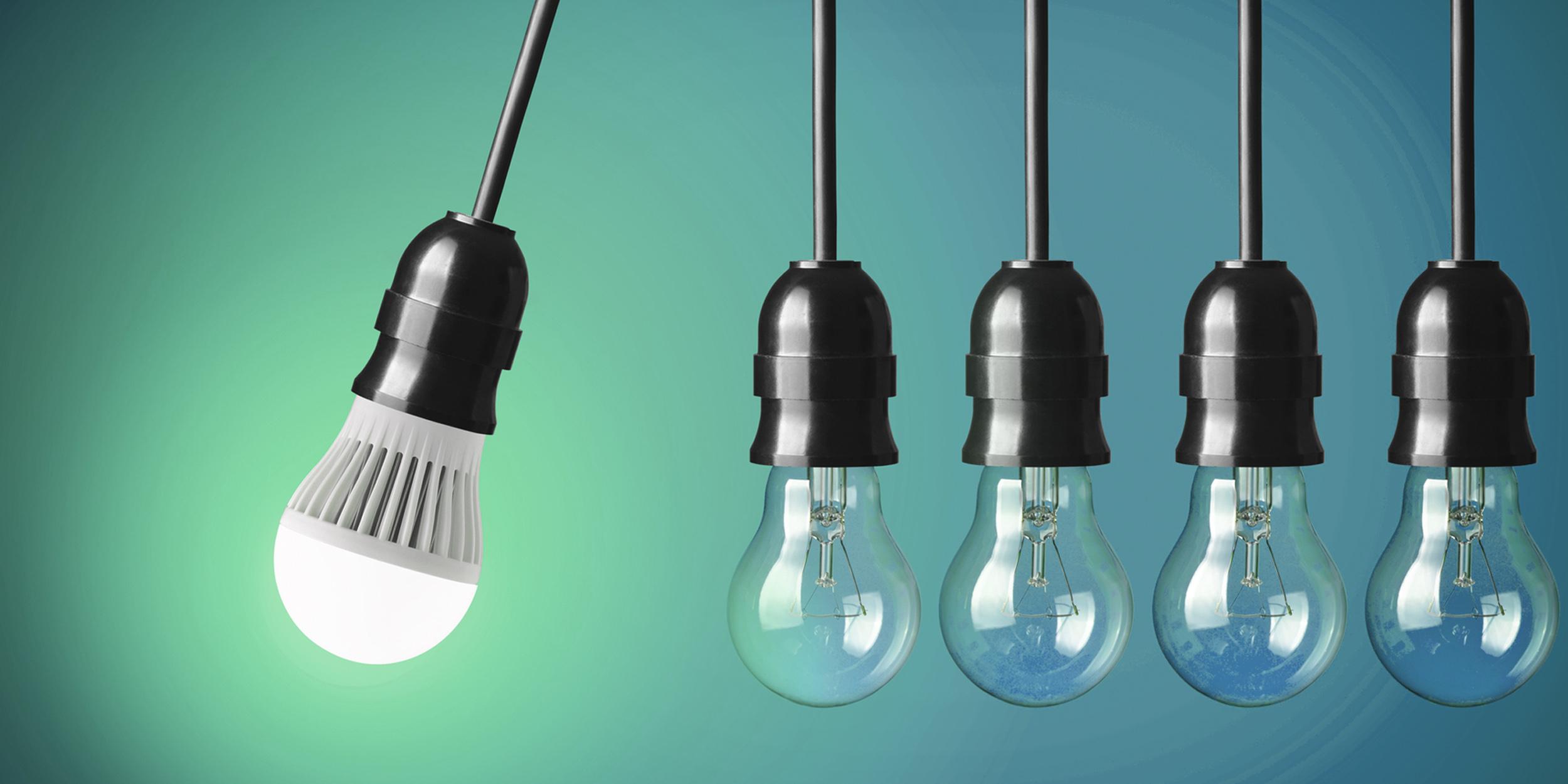 Конструкционные особенности, принцип действия лампочки