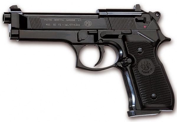 Все виды пистолетов с названиями