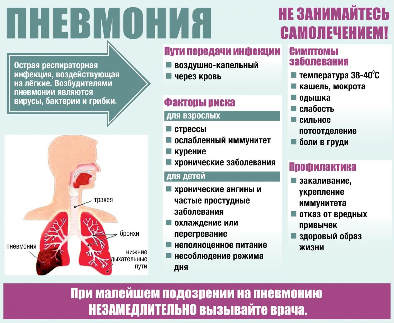 Внебольничная пневмония: этиология, признаки и течение, диагностика, терапия
