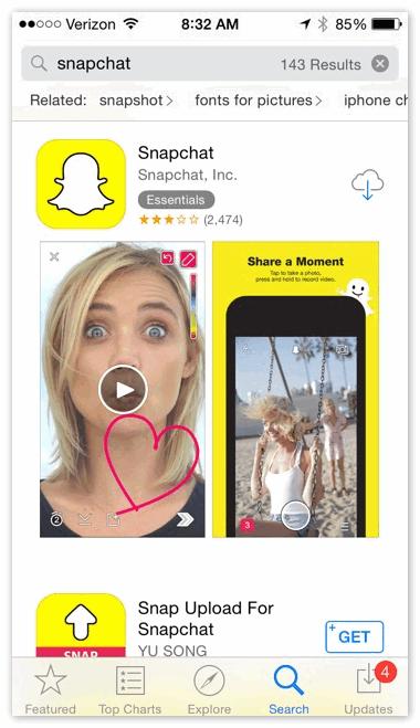 Snapchat - скачать бесплатно snapchat последнюю версию на русском языке