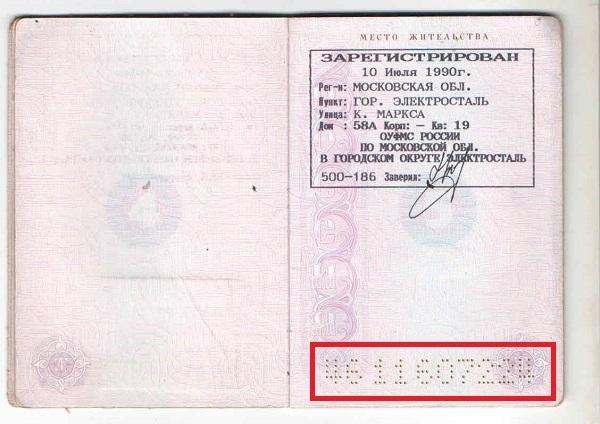 Паспортные данные: серия и номер паспорта по фио