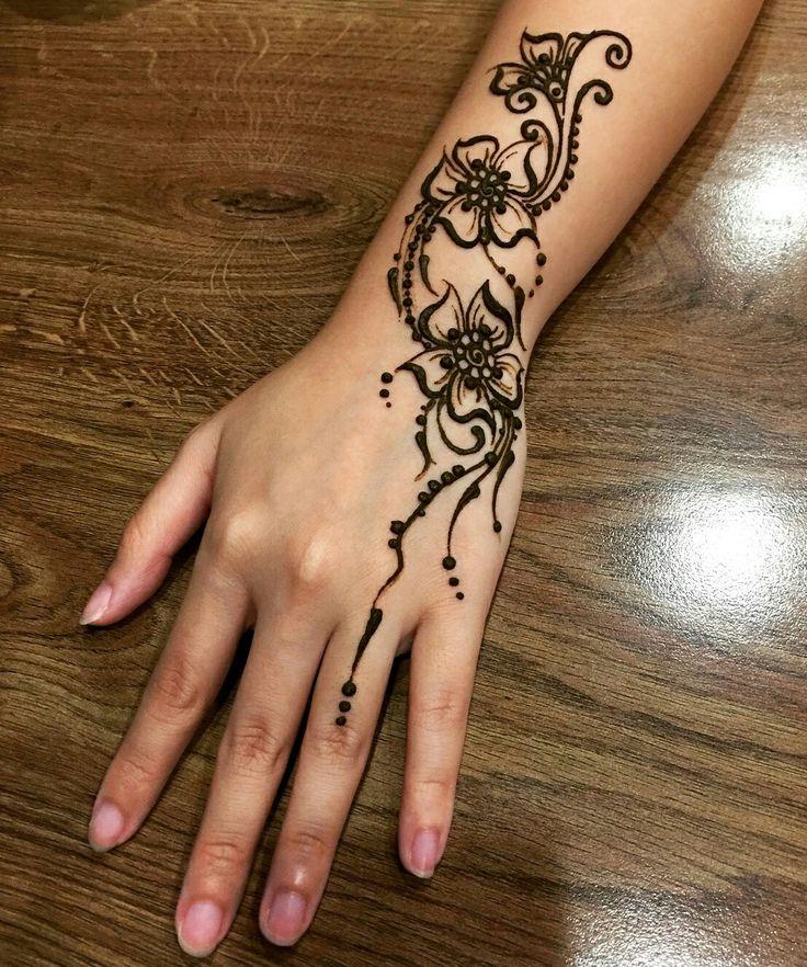 Мехенди. что это такое, рисунки хной на теле для начинающих. эскизы, узоры тату