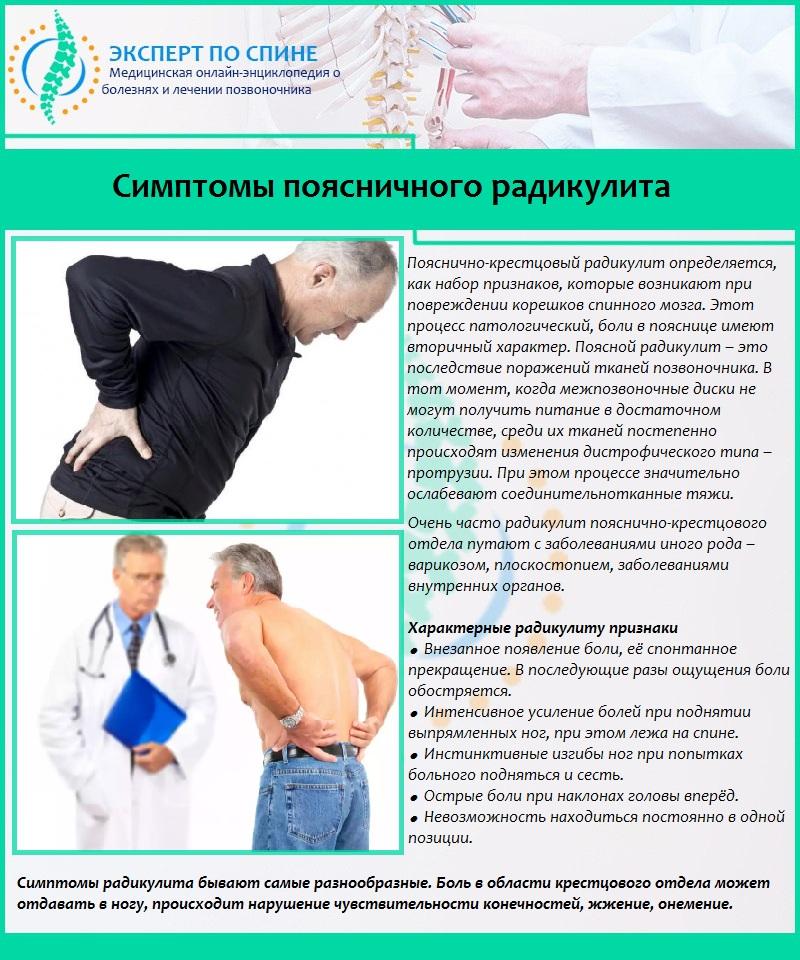 Радикулопатия: причины, симптомы, методы терапии и профилактика