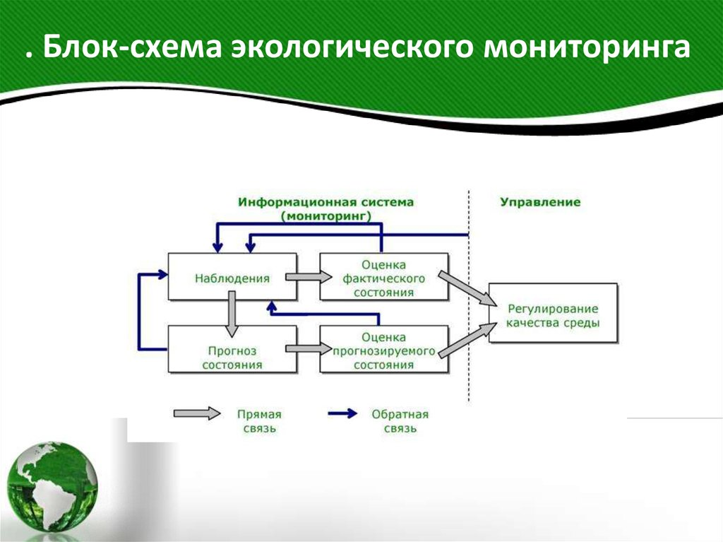 Мониторинг окружающей природной среды, ресурсов и объектов природы