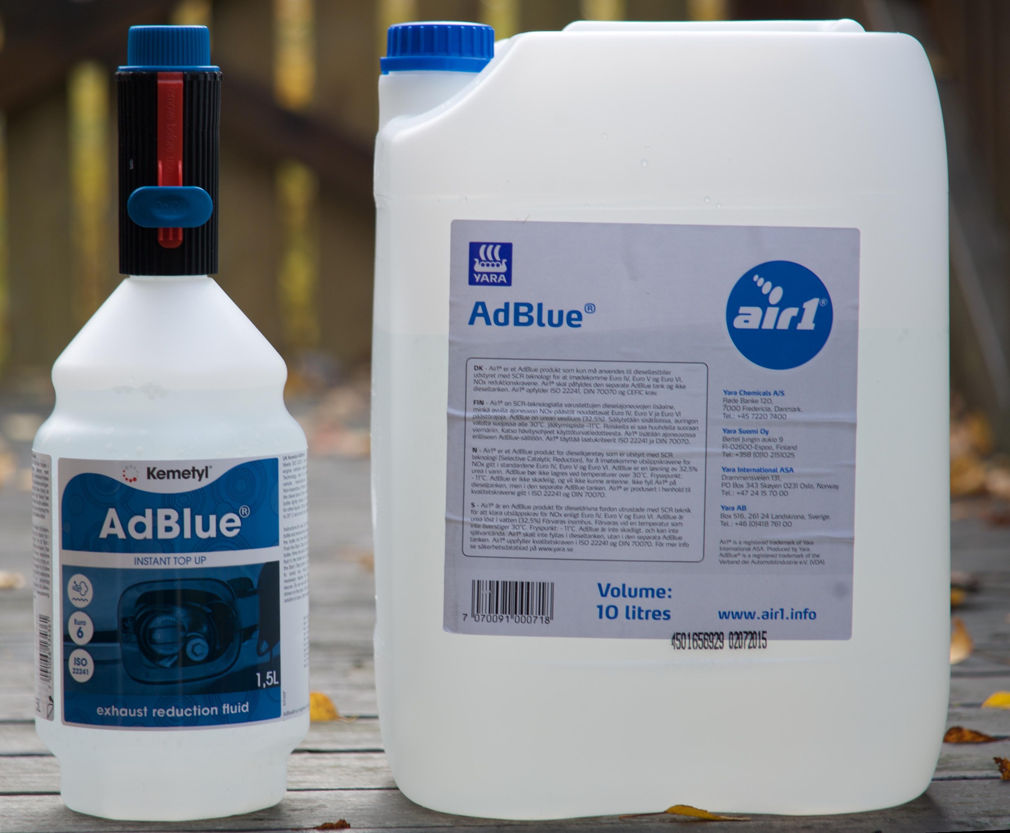 Adblue - что это такое, назначение?