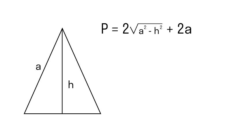 Как найти периметр треугольника: теорема пифагора и формула косинусов в зависимости от известных сторон