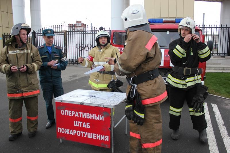 Развертывания сил и средств на пожаре (пожарное развертывание)