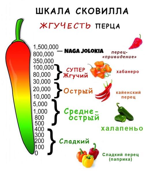 Кайенский перец — один из самых острых перцев