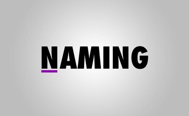 Что такое нейминг, примеры и книги для изучения