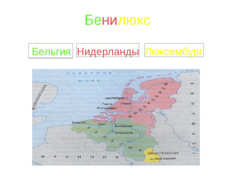 Что такое бенилюкс? (окружающий мир, 3 класс)