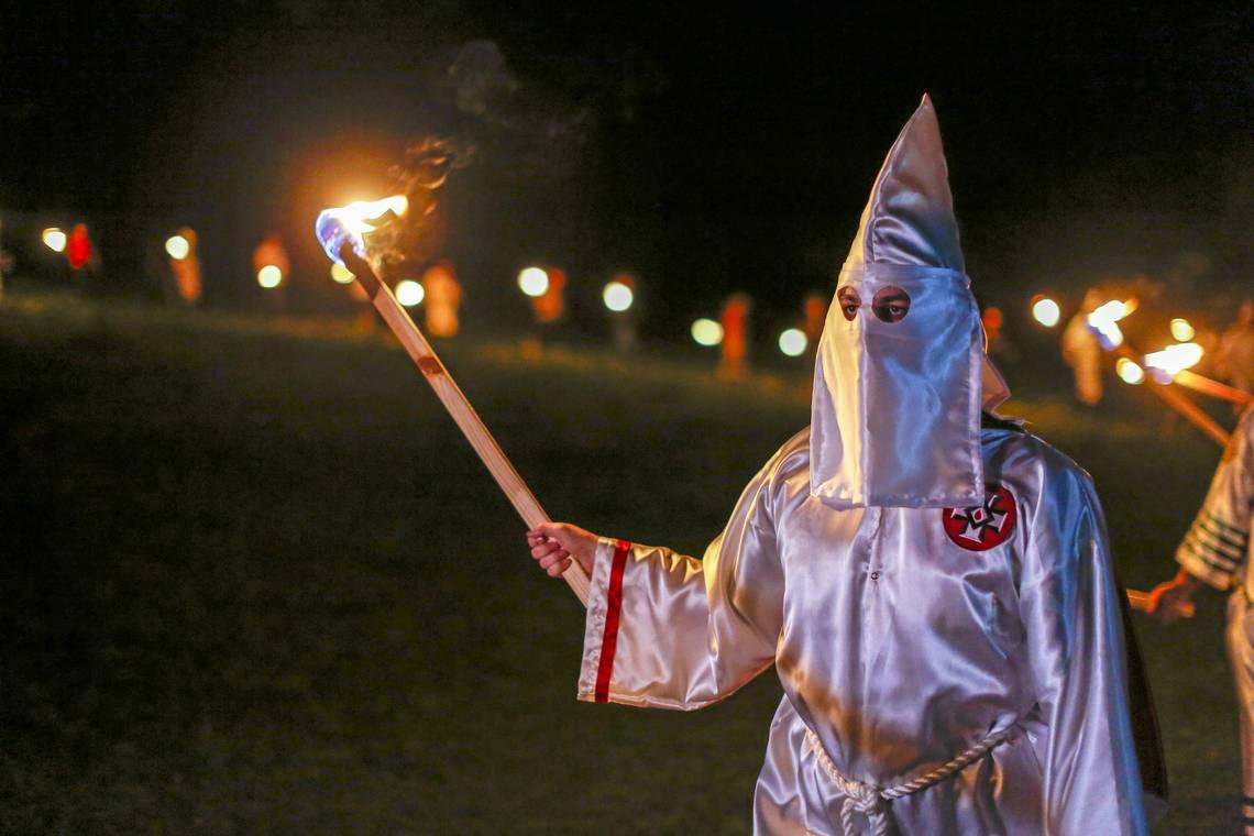Ку-клукс-клан – «белое движение» субкультуры