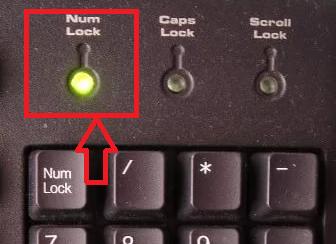Активация numlock при включении компьютера — miradmin
