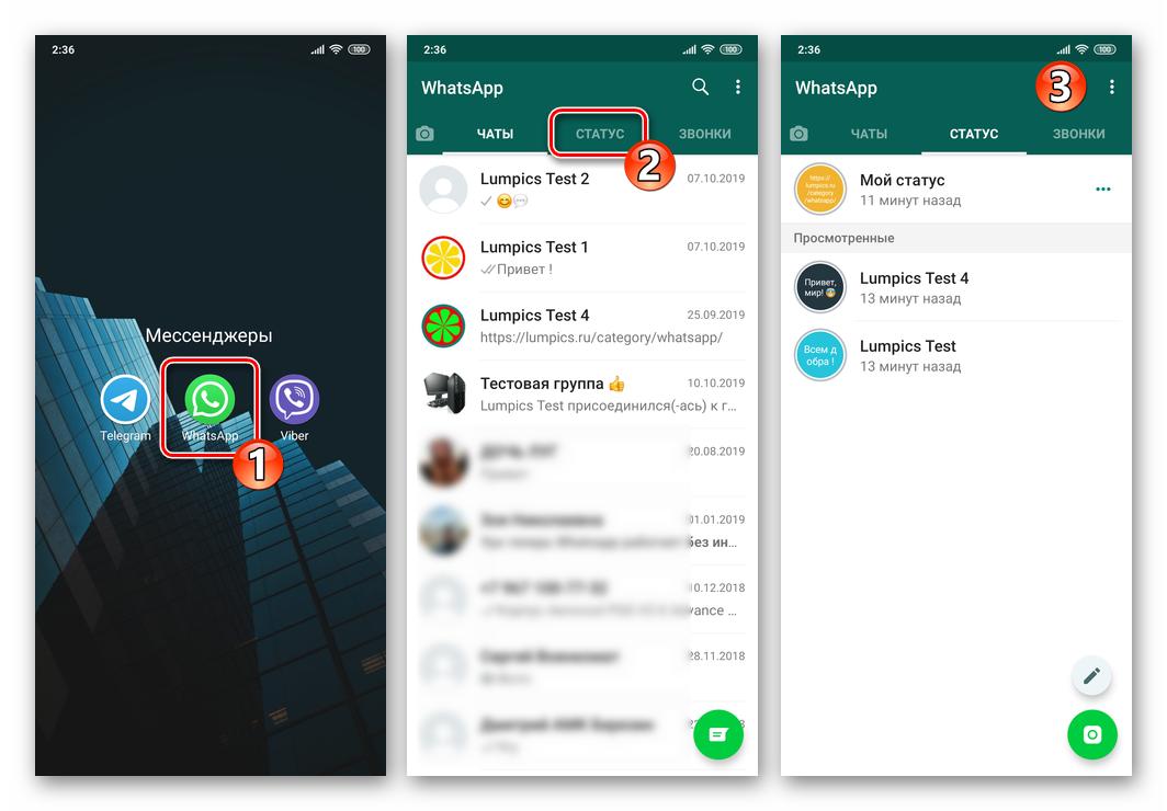 Что такое статус в whatsapp – для чего нужен, как установить и удалить