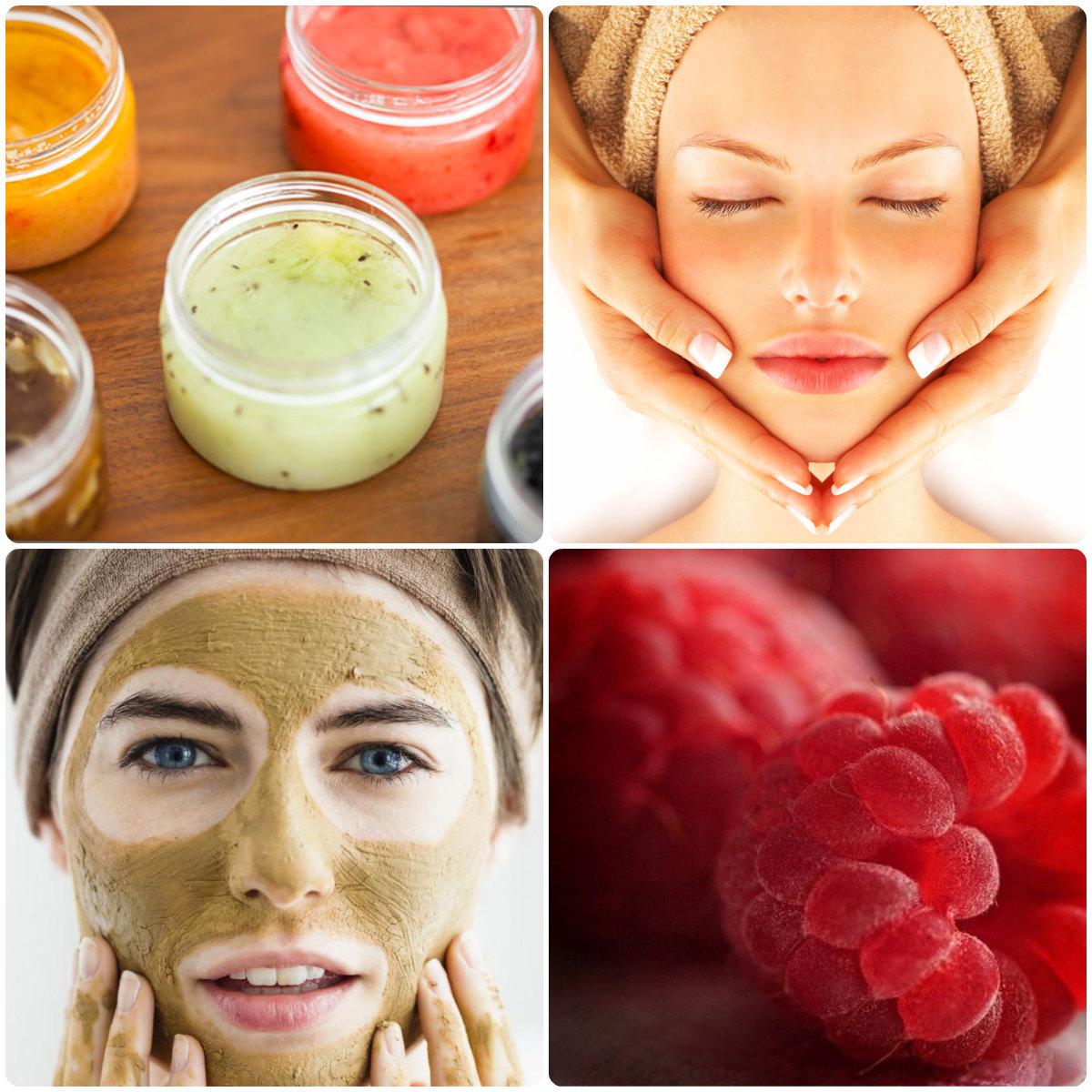 Маска-гоммаж для лица: бережное очищение кожи любого типа