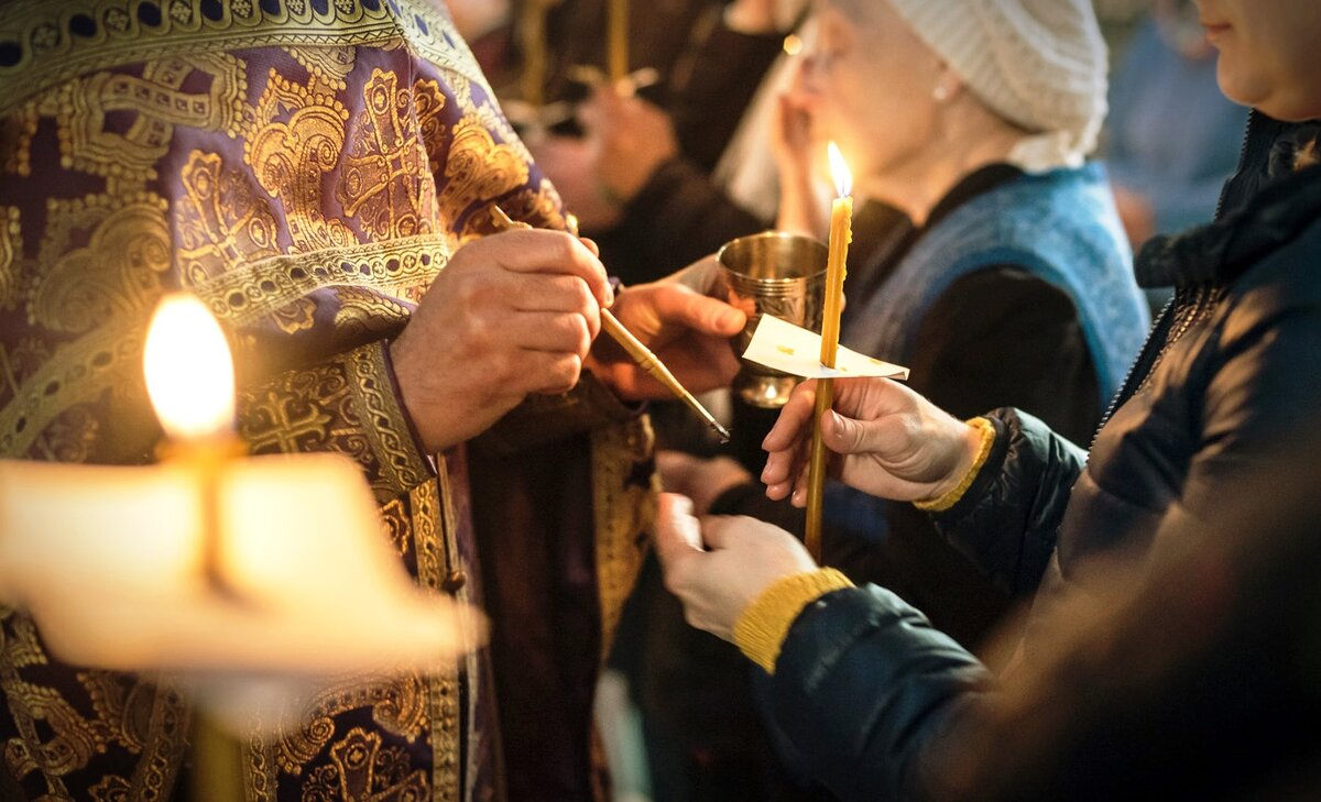 Соборование: таинство больных… и здоровых — женский монастырь