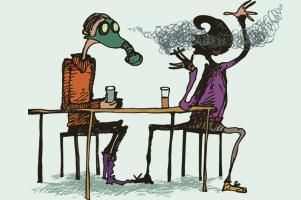 Какое курение вреднее: пассивное или активное