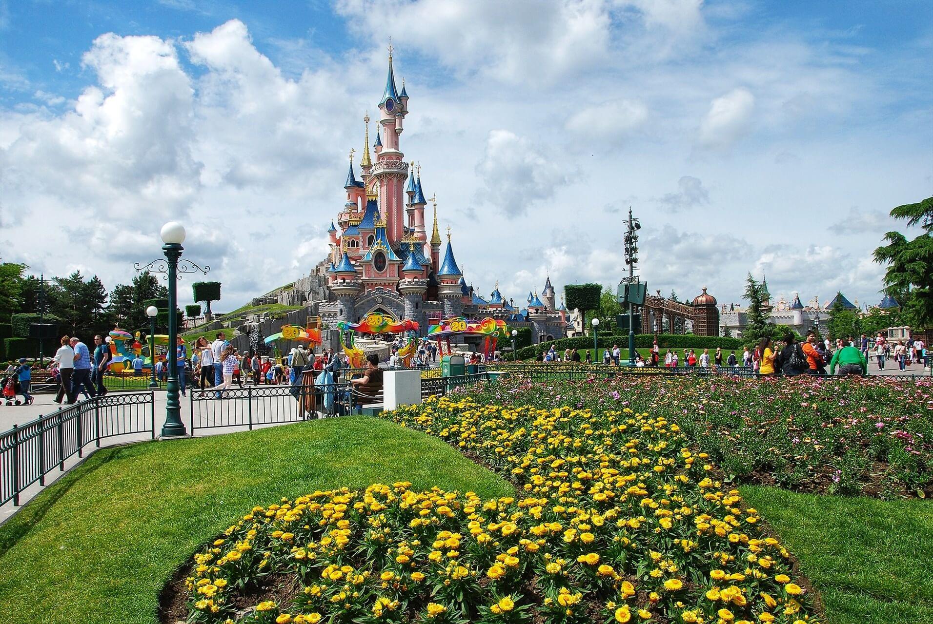 Парк развлечений «мир уолта диснея»