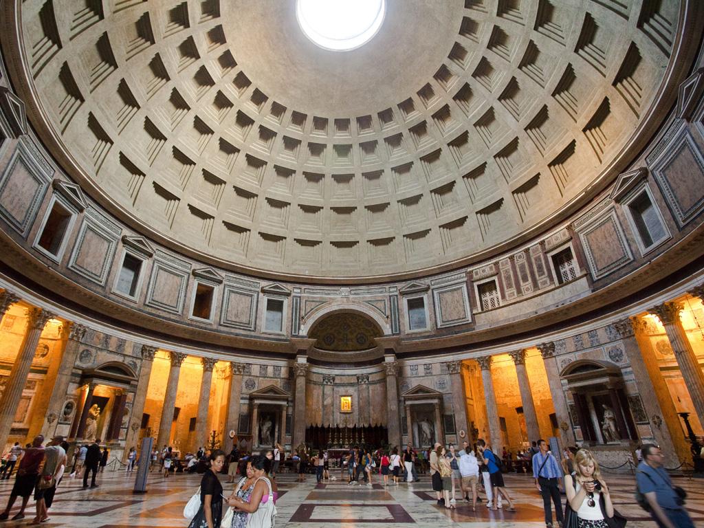 Пантеон — храм всех богов древнего рима
